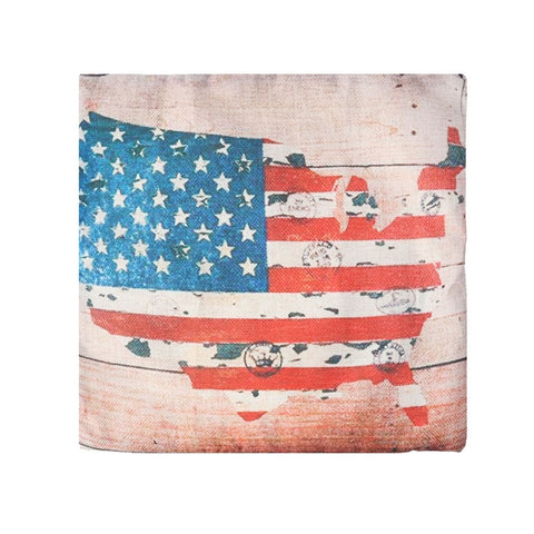 American Retro Pillow Case