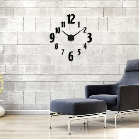 Digital DIY Wall Clock