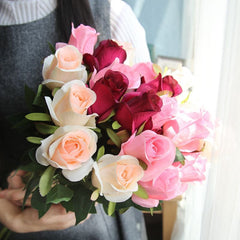 Artificial Rose Flower Bouquet