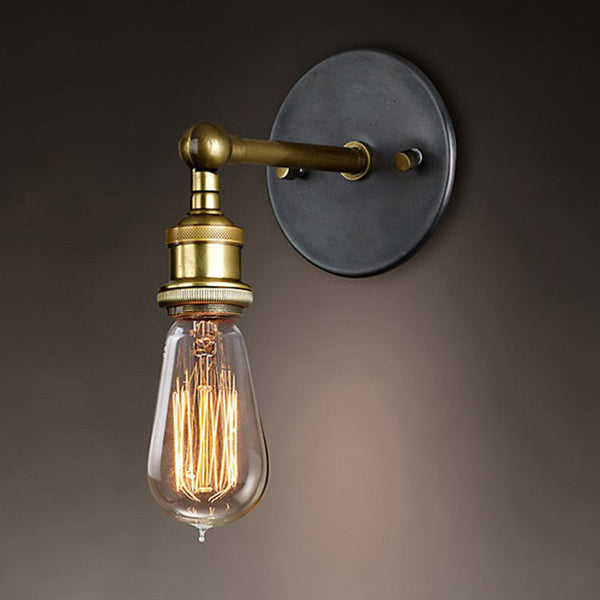 Vintage Industrial Metal Wall Light