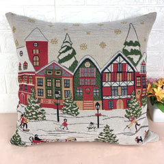 Embroidery Fabric Pillow Case