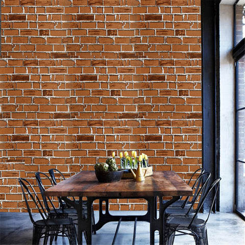 3D Brick Stone Wall Sticker