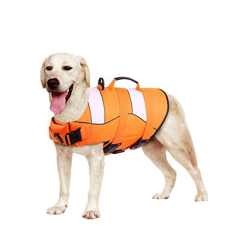 Adjustable Ripstop Dog Life Jacket for Water Safety