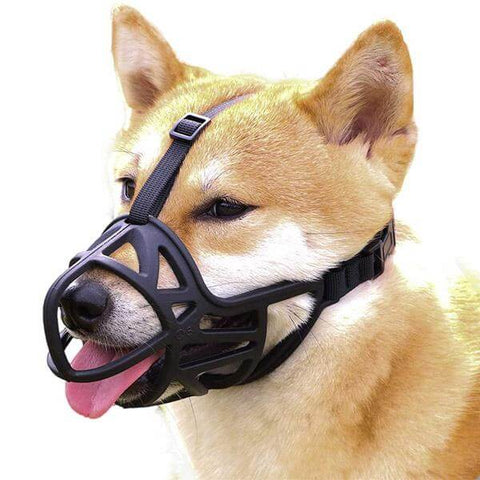 Breathable Basket Dog Muzzle Prevent Barking and Chewing