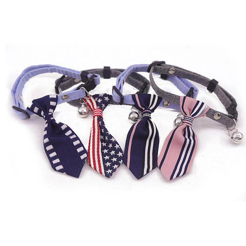 Necktie Collar Puppy Grooming Ties for Small Dogs and Cats
