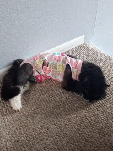 cat recovery suit pattern