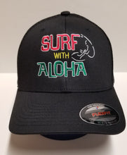 Load image into Gallery viewer, SURF WITH ALOHA RASTA - FLEXFIT Hat