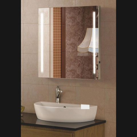 MR000003 - Framless Backlit Strips Mirror