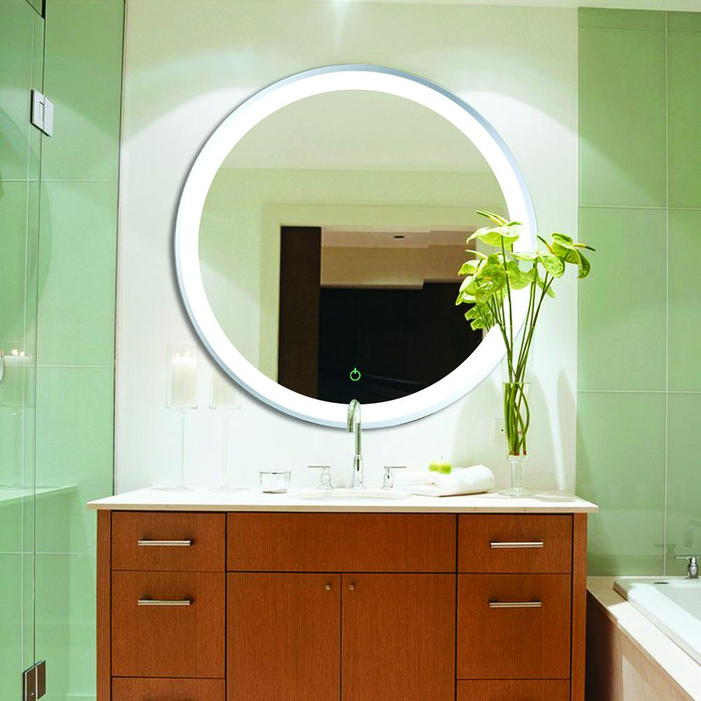 MR000005 - Round Frameless Mirror