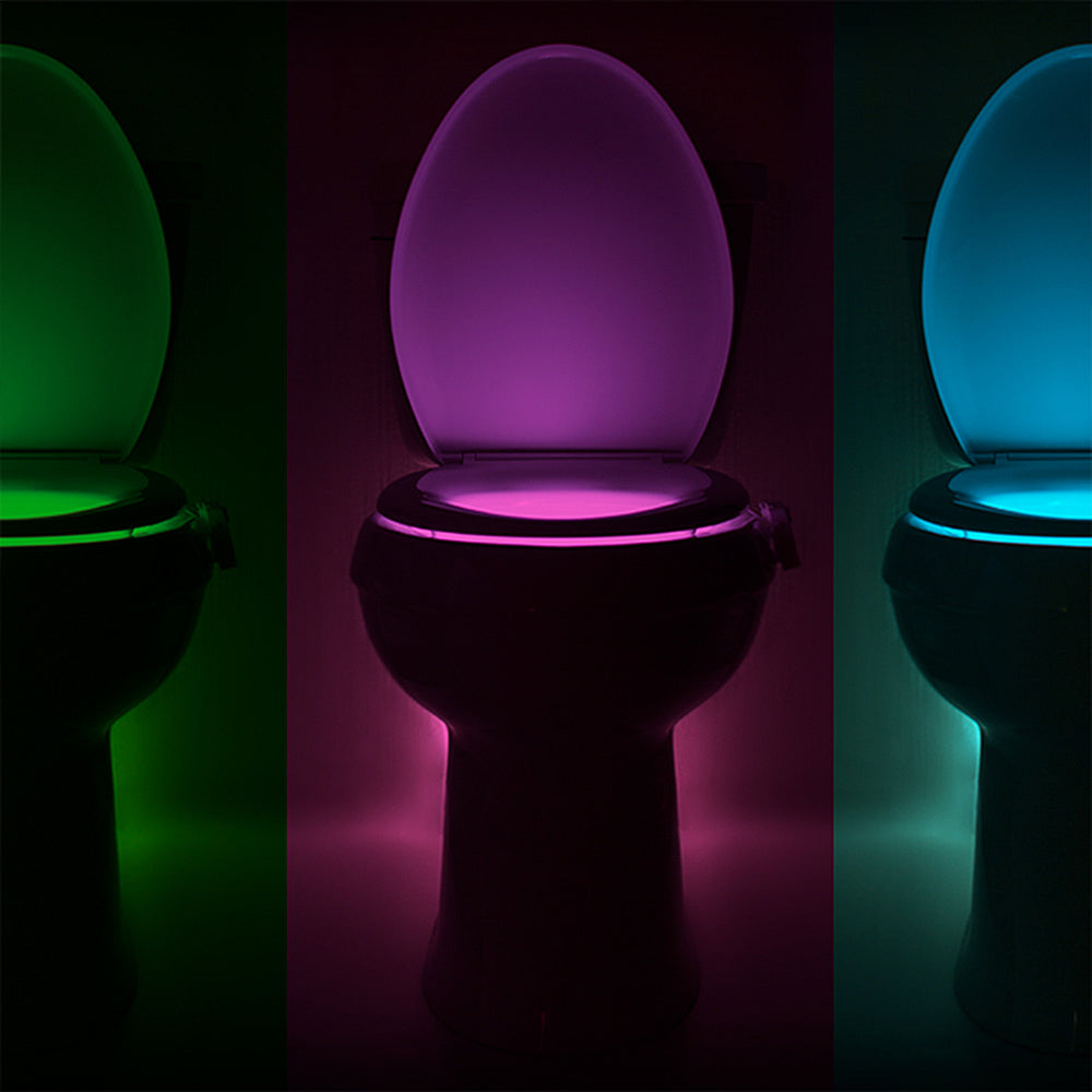 Illuminating Toilet Bowl Light