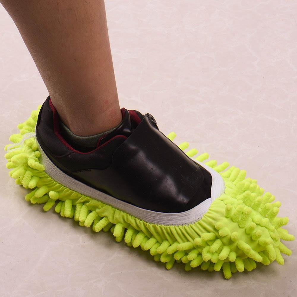 Mop Slippers - Green