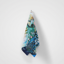 Load image into Gallery viewer, Microfibre Workout Towel - The Spirit that Meanders between Land and Sky by Bree Morrison