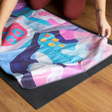 Load image into Gallery viewer, Microfibre Workout Towel - Alignment by Jacklyn Foster