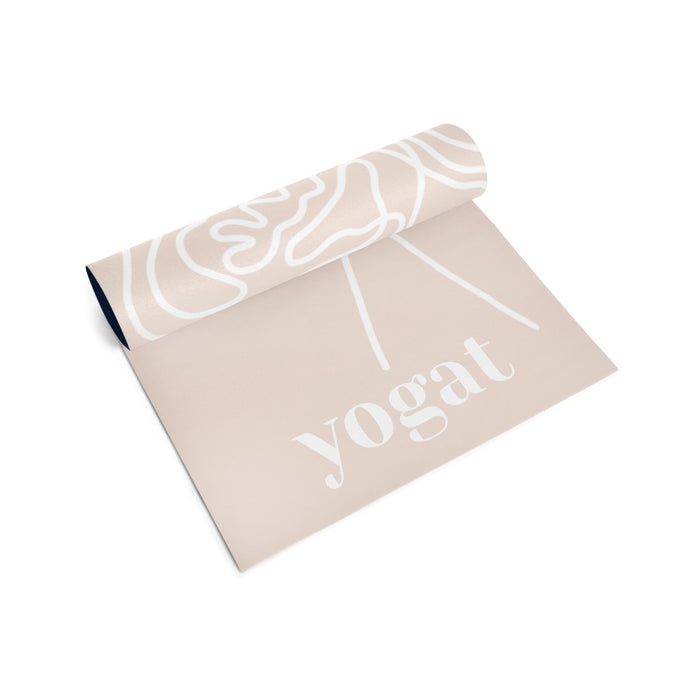 Yoga and Pilates Mat - Bloom, again by Olivia Steel
