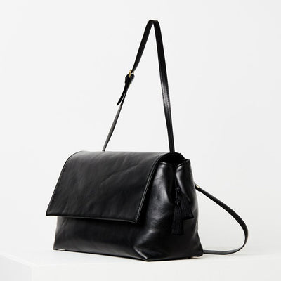 Flap Bag / Black