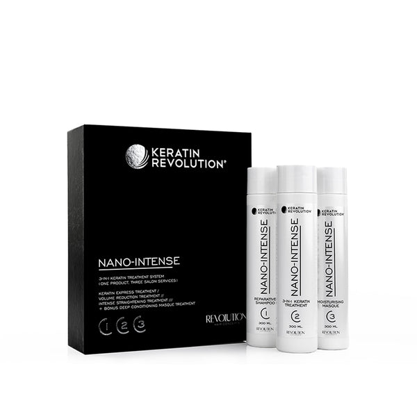 Keratin Revolution Nano Intense Salon Introduction Kit 300ml