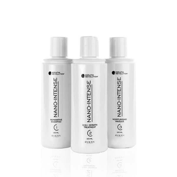 Keratin Revolution Nano Intense Stylist Kit 120ml