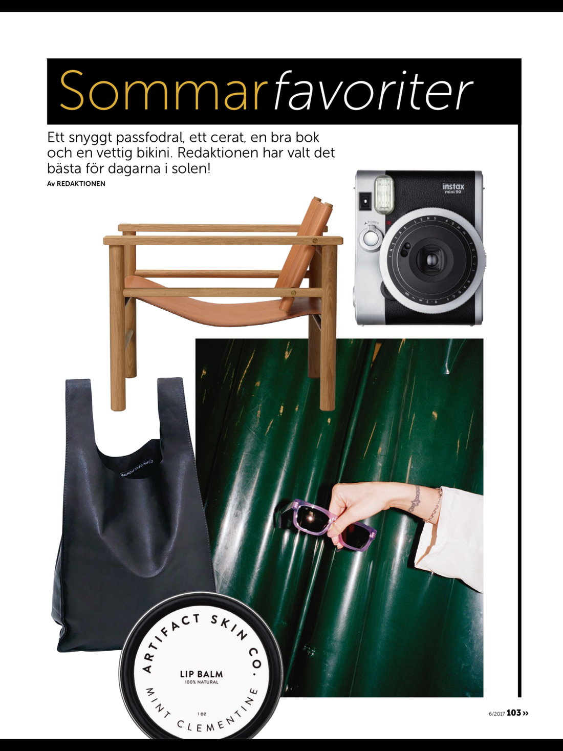 Recidence Magazine - Summer selections