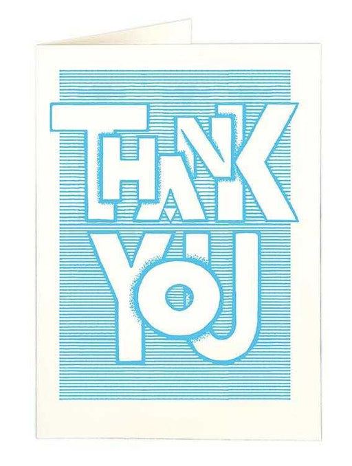 Thank you Blue - Thank You - The Archivist Gallery