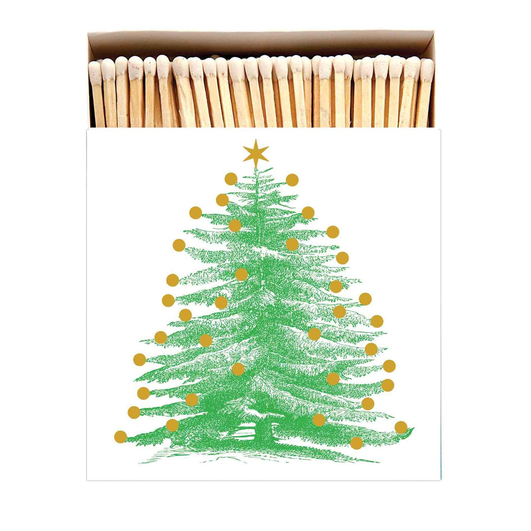 Luxury Matchboxes Square - Christmas Tree - The Archivist Gallery | FABLAB AB