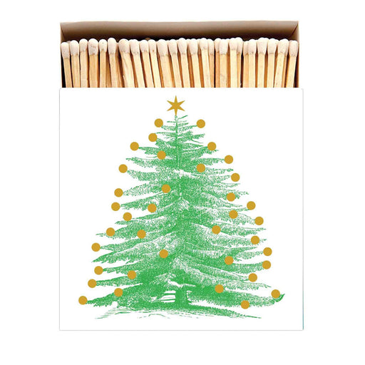 Luxury Matchboxes Square - Christmas Tree - The Archivist Gallery