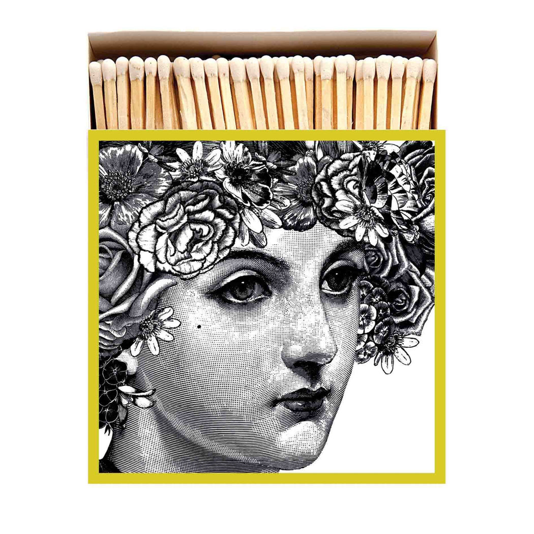 Luxury Matchboxes Square - Lady - The Archivist Gallery