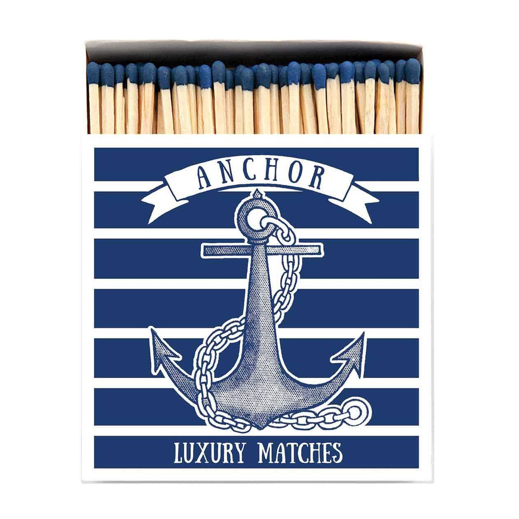 Luxury Matchboxes Square - Anchor - The Archivist Gallery