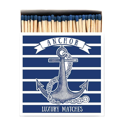 Luxury Matchboxes Square - Anchor - The Archivist Gallery | FABLAB AB