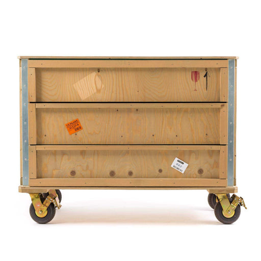 Export Como Chest of 3 Drawers Wheels - Seletti