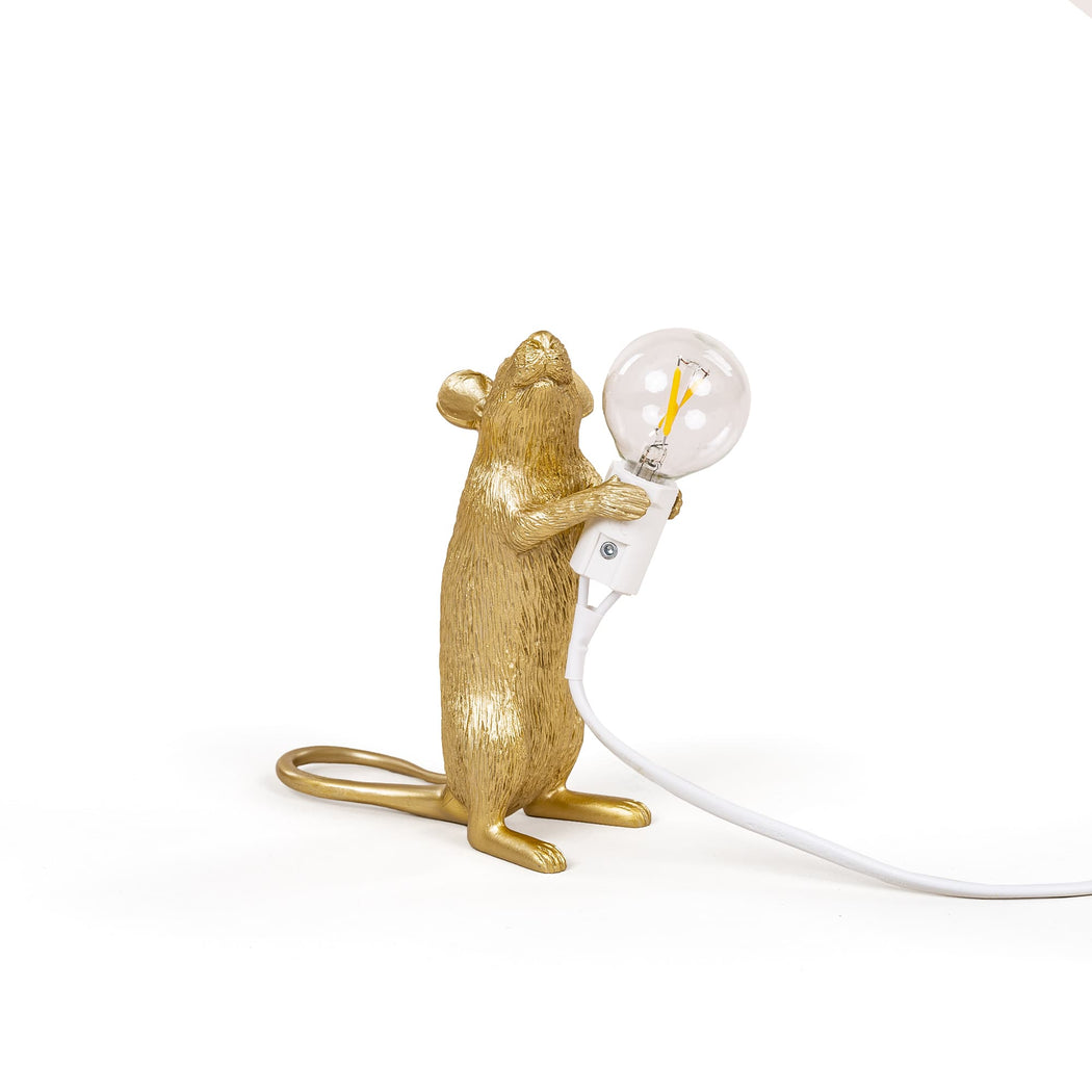 Mouse Lamp - Gold - Seletti | FABLAB AB