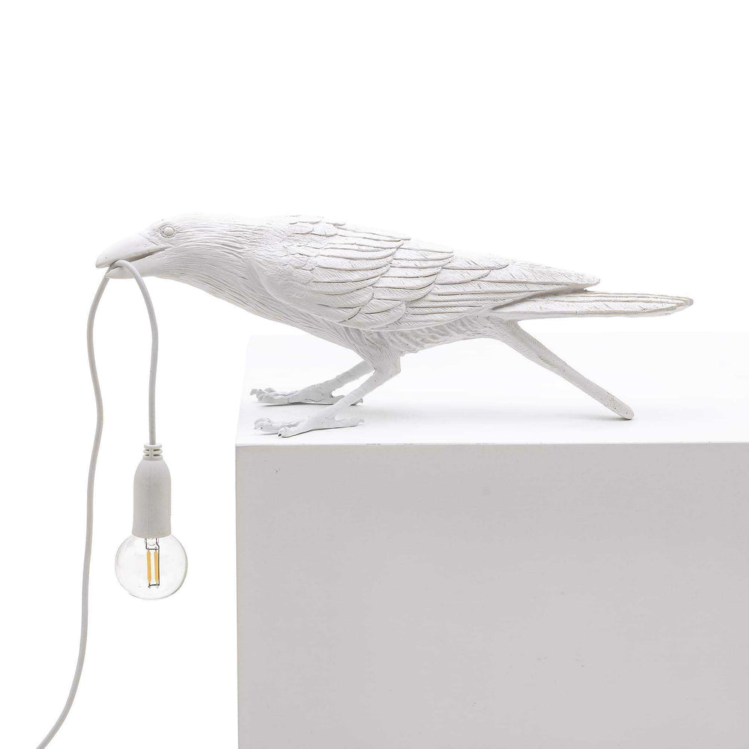 Bird Lamp - White - Seletti