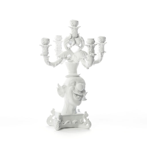 Burlesque - Clown White Candelabra - Seletti