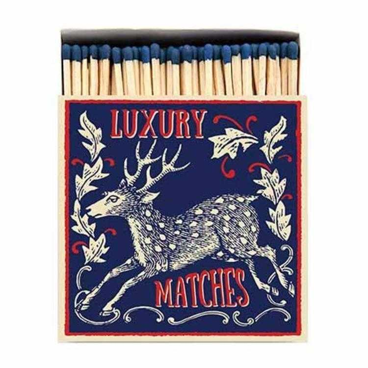 Luxury Matchboxes Square - Deer - The Archivist Gallery