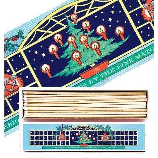 Luxury Matchboxes Long - Christmas Tree - The Archivist Gallery