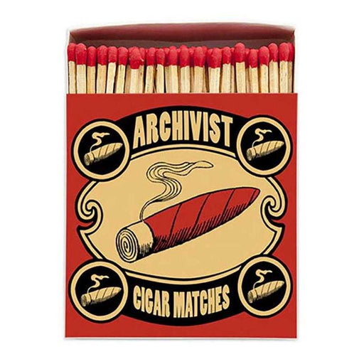 Luxury Matchboxes Square - Cigar - The Archivist Gallery