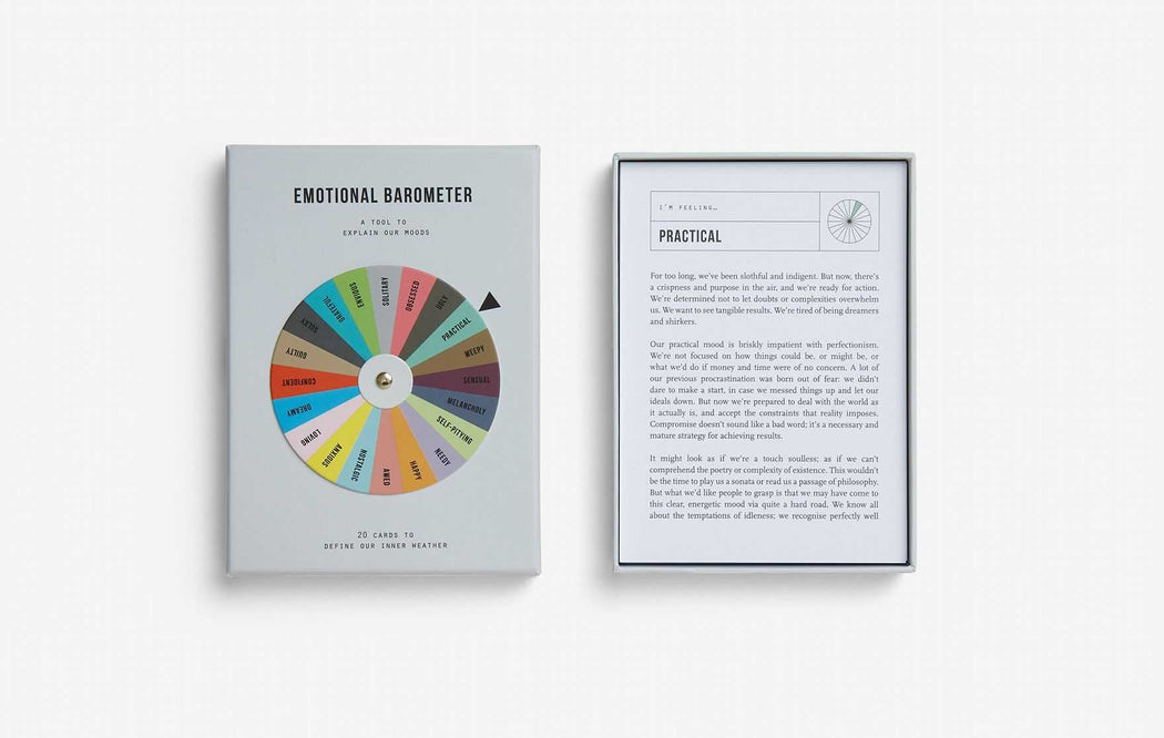 Emotional Barometer - Cards - The School of Life | FABLAB AB