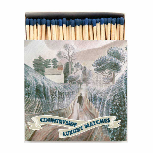 Luxury Matchboxes Square - Countryside - The Archivist Gallery