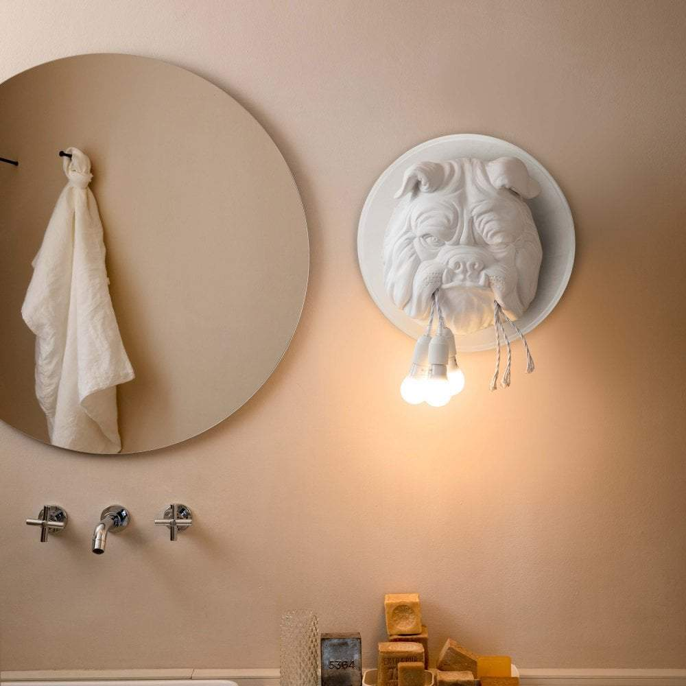 Amsterdam Wall Lamp - White - Karman