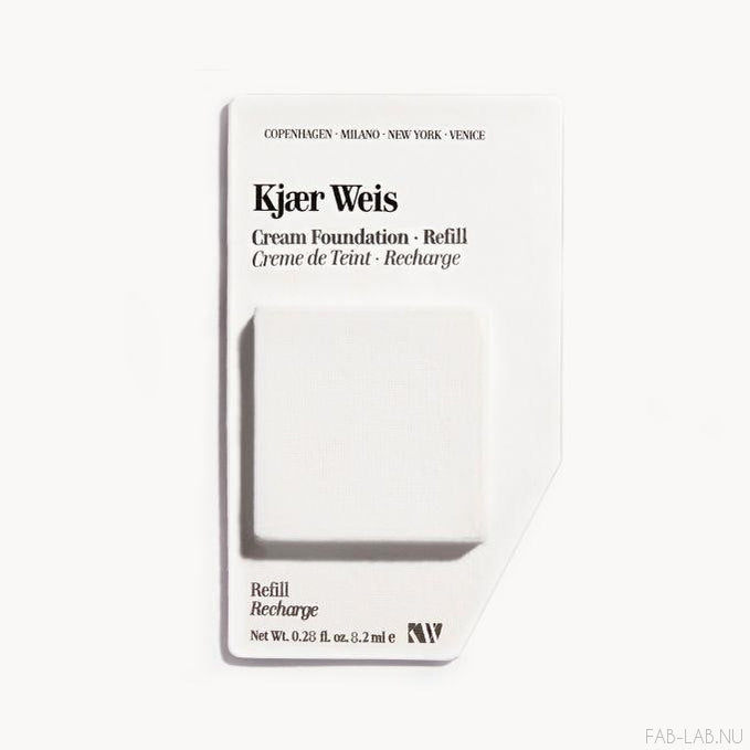 Cream Foundation - Silken - Kjaer Weis | FABLAB AB
