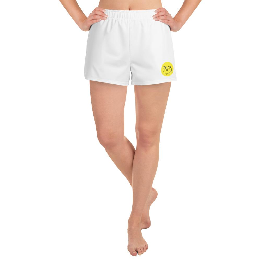 FABLAB Emoji Women's Athletic Shorts