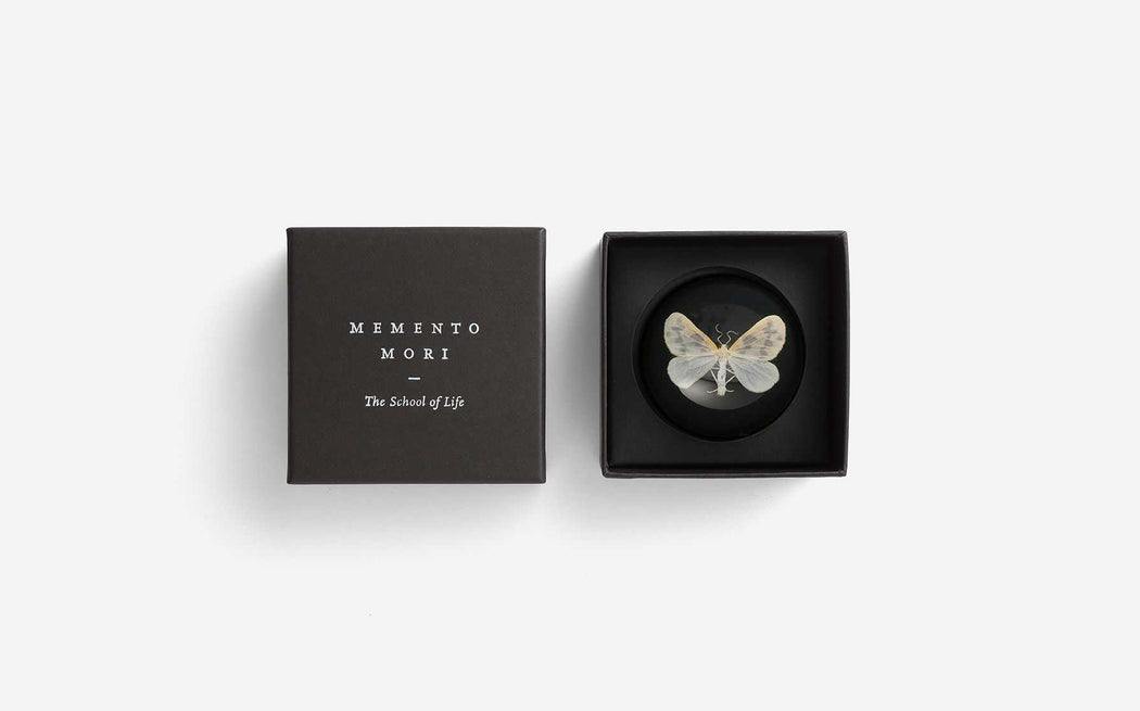 Memento Mori Paperweight - The School of Life | FABLAB AB