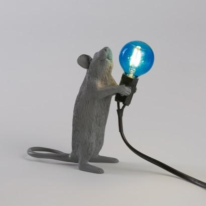Mouse Lamp - Grey - Seletti | FABLAB AB