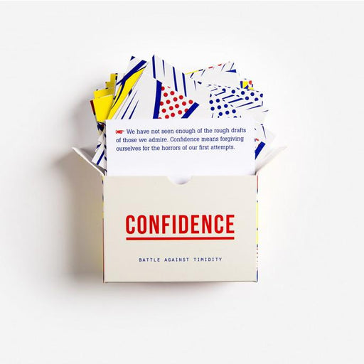 Confidence Prompt Cards - The School of Life