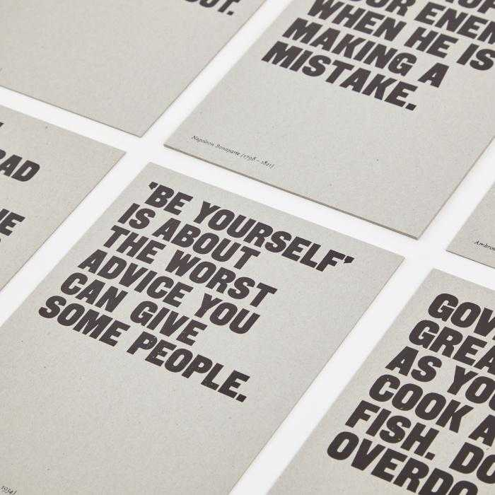 20 Aphorisms Card Set - The School of Life | FABLAB AB