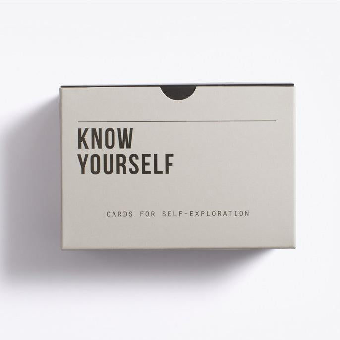 Know Yourself Prompt Cards - The School of Life