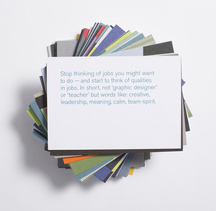 Career Crisis Prompt Cards - The School of Life | FABLAB AB