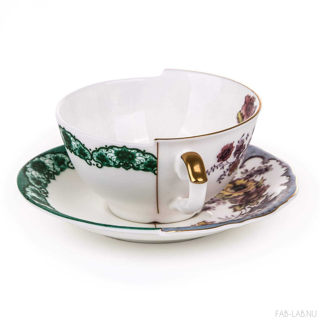 Hybrid Tea Cup and Saucer - Isidora - Seletti