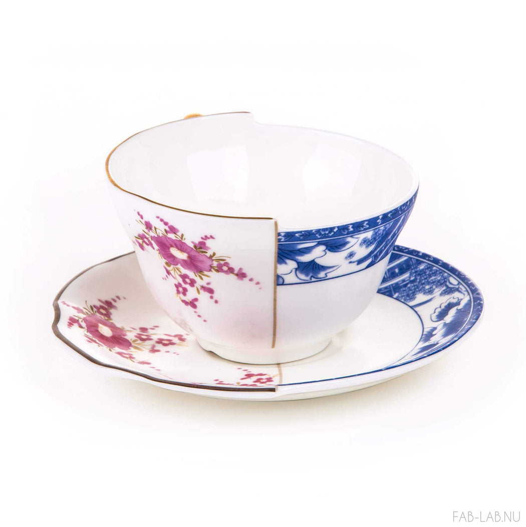 Hybrid Tea Cup and Saucer - Zenobia - Seletti