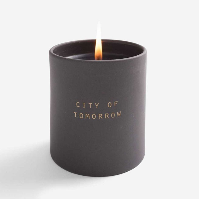 Utopia Candle - City of Tomorrow - The School of Life | FABLAB AB