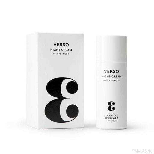 Night Cream - Verso | FABLAB AB